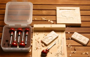 Photo of catalog #127 - chisel set